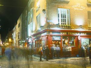 Bar Fleet Street, Temple Bar Area, Dublin, County Dublin, Eire (Ireland) by Bruno Barbier