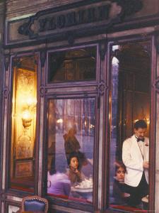 Cafe Florian, St. Mark's Square, Venice, Veneto, Italy by Bruno Barbier
