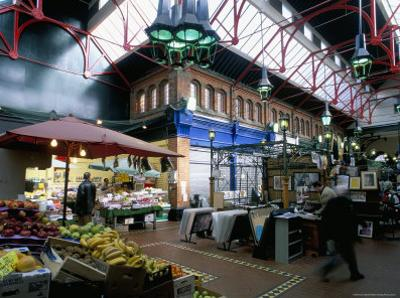 Covered Market, Great George Street Area, Dublin, County Dublin, Eire (Ireland) by Bruno Barbier