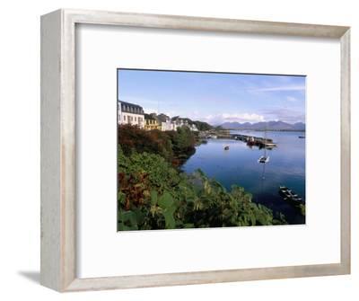 Fishing Port, Roundstone Village, Connemara, County Galway, Connacht, Eire (Ireland)