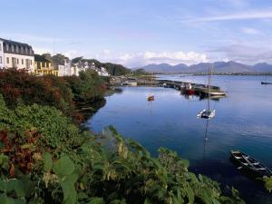 Fishing Port, Roundstone Village, Connemara, County Galway, Connacht, Eire (Ireland) by Bruno Barbier