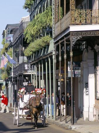 French Quarter, New Orleans, Louisiana, USA by Bruno Barbier
