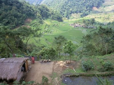 Ifugao Village of Banga-An, Northern Area, Island of Luzon, Philippines, Southeast Asia by Bruno Barbier