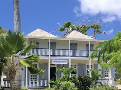 Nelson's House, Nelson's Dockyard, English Harbour, Antigua, Leeward Islands by Bruno Barbier