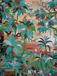 Painting, Neka Museum, Ubud, Island of Bali, Indonesia, Southeast Asia by Bruno Barbier