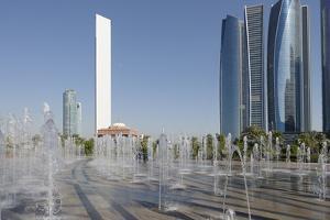 Skyscraper Adnoc Headquarters, 342 M, Abu Dhabi, United Arab Emirates, Middle East by Bruno Barbier