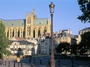 St. Etienne Cathedral, Metz, Moselle, Lorraine, France by Bruno Barbier