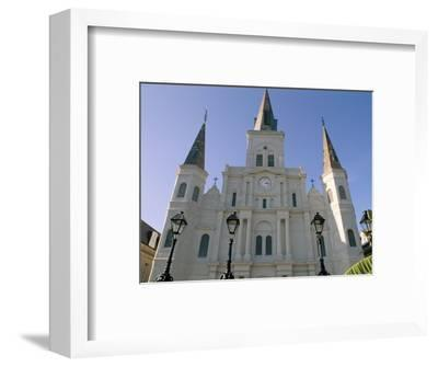 St. Louis Cathedral, Jackson Square, New Orleans, Louisiana, USA