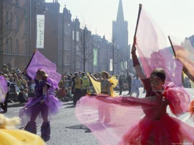 St. Patrick's Parade, Patrick Street, Dublin, County Dublin, Eire (Ireland) by Bruno Barbier