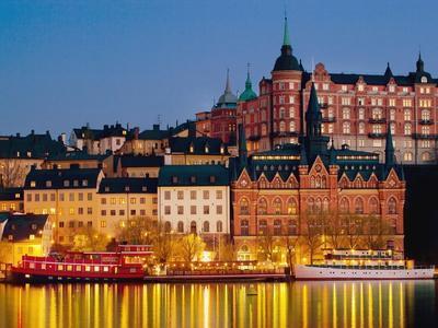 Buildings in Stockholm