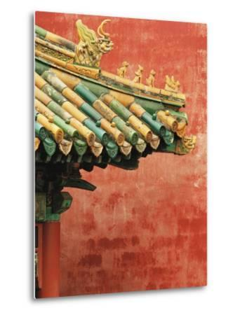 Roof Decoration on Building in Forbidden City