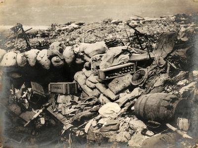 Austrian Trench, During the First World War