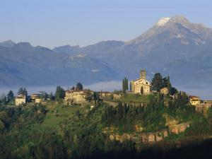 Barga, Tuscany, Italy, Europe by Bruno Morandi