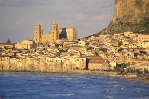 Cefalu, Palermo District, Sicily, Italy, Mediterranean, Europe by Bruno Morandi