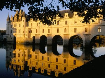 Chateau of Chenonceau, Indre Et Loire, Loire Valley, France