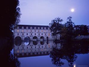 Chateau of Chenonceau, Indre Et Loire, Pays De Loire, Loire Valley, France, Europe by Bruno Morandi