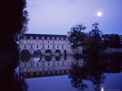 Chateau of Chenonceau, Indre Et Loire, Pays De Loire, Loire Valley, France, Europe
