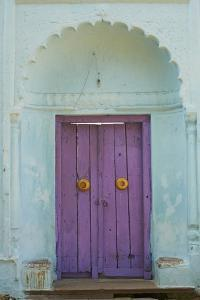 Door, Murshidabad, Former Capital of Bengal, West Bengal, India, Asia by Bruno Morandi