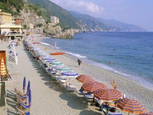 Fegina Beach, Cinque Terre, Liguria, Italy by Bruno Morandi