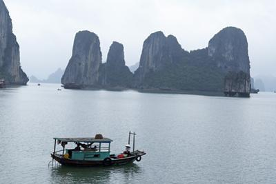 Halong (Ha Long) Bay, UNESCO World Heritage Site, Vietnam, Indochina, Southeast Asia, Asia by Bruno Morandi