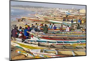 Kayar Fishing Harbour, the Biggest Fishing Harbour in Senegal, Senegal, West Africa, Africa by Bruno Morandi