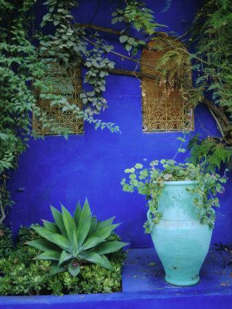 Majorelle Gardens, Marrakesh, Morocco, North Africa
