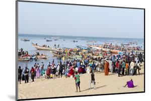 Mbour Fishing Harbour on the Petite Cote (Small Coast), Senegal, West Africa, Africa by Bruno Morandi