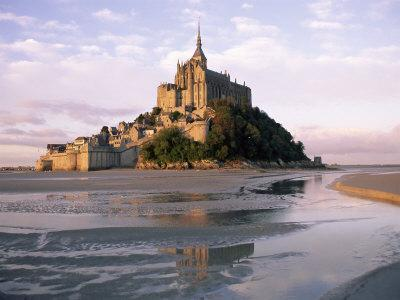 Mont Saint Michel (Mont-St. Michel), Manche, Normandie (Normandy), France