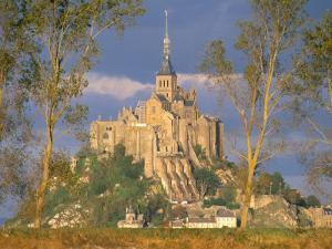 Mont Saint Michel, Unesco World Heritage Site, Manche, Normandy, France by Bruno Morandi