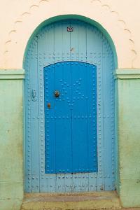 Morocco, Tiznit, Doorway by Bruno Morandi
