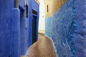Narrow Street in the Medina (Old City), Tangier (Tanger), Morocco, North Africa, Africa by Bruno Morandi