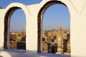 Old City of Sanaa, UNESCO World Heritage Site, Yemen, Middle East by Bruno Morandi