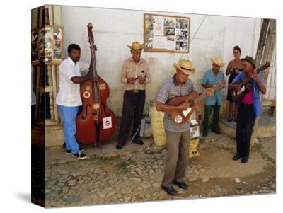 Old Street Musicians, Trinidad, Cuba, Caribbean, Central America