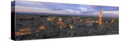 Panoramic View Over the City, Siena, Unesco World Heritage Site, Tuscany, Italy, Europe
