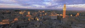 Panoramic View Over the City, Siena, Unesco World Heritage Site, Tuscany, Italy, Europe by Bruno Morandi