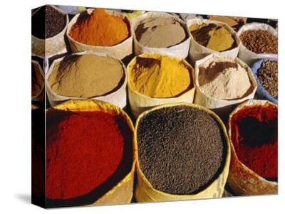 Sacks of Spices, Ouarzazate Market, Morocco, North Africa