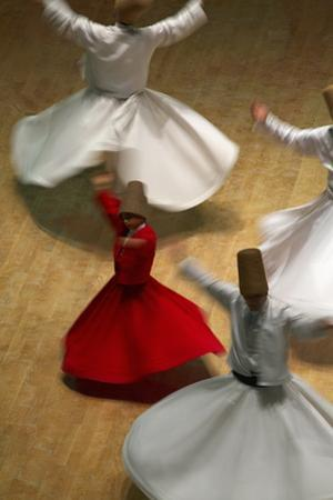 Whirling Dervishes at the Dervishes Festival, Konya, Central Anatolia, Turkey, Asia Minor, Eurasia