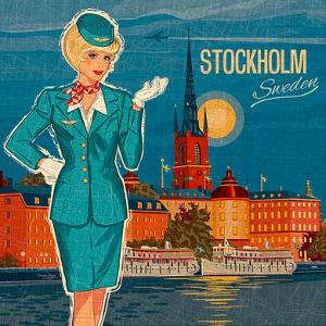 Stockholm by Bruno Pozzo