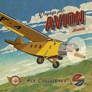 Voyage par avion by Bruno Pozzo
