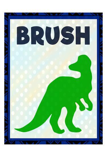 Brush-Kimberly Allen-Art Print