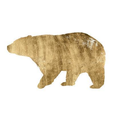 Brushed Gold Animals II-Grace Popp-Art Print