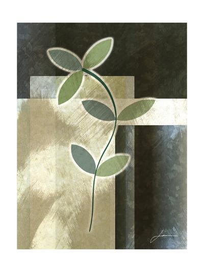 Brushed Metro Stems I-James Burghardt-Art Print