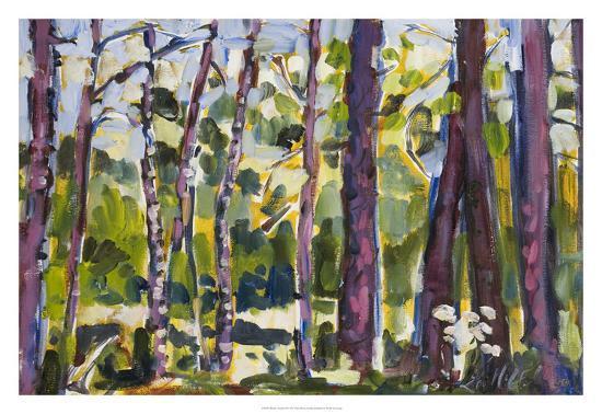 Brushy Treeline II-Erin McGee Ferrell-Giclee Print