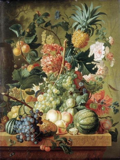 Brussel: Fruits, 1789-Paul Theodor van Brussel-Giclee Print