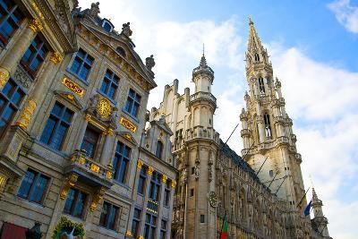 Brussels Grand Place--Photographic Print