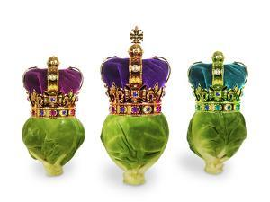 Brussels Sprouts with Crowns 'We Three Kings'