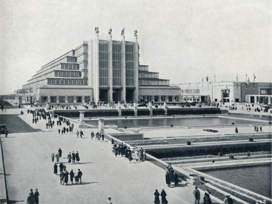 'Brussels: The Universal and International Exhibition', 1935-Unknown-Photographic Print