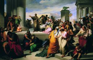 Brutus Shows the People the Corpse of Lucretia
