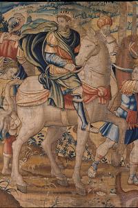 Elijah and Elisha's Stories. Elijah Predicts God's Punishment to Ahab by Bruxelles Manifacture