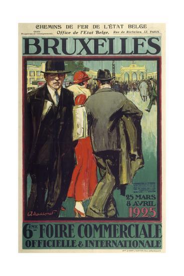 Bruxelles-Marcus Jules-Giclee Print